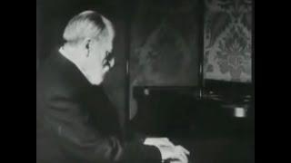 Saint-Saëns plays Valse Mignonne