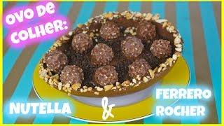 Ovo de Páscoa de colher: Nutella e Ferrero Rocher I por Jenny Mahet l