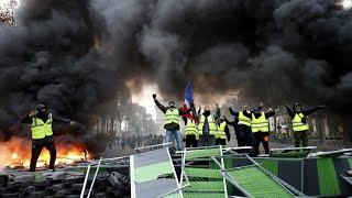 L'Acrobate - Manifestation Gilet Jaune + je casse ma voiture (Story Snap)