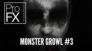 Monster sound effect (3) | ProFX (Sound, Sound Effects, Free Sound Effects)