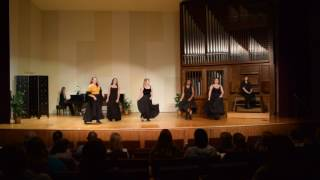 Columbia College Musical and Opera Scenes: The Merry Widow- We're the Ladies of the Chorus