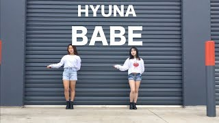 HyunA(현아) _ BABE(베베) dance cover by 155cm