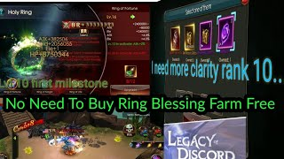 Legacy of Discord - Diablo666 - No Need to Buy ring blessings (Farm for free)