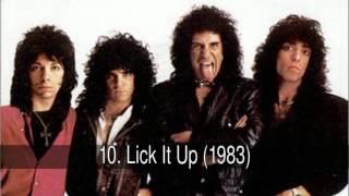 Los mejores discos de KISS