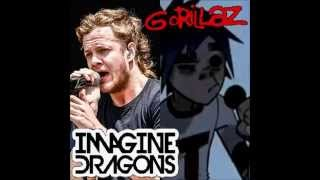 Gorillaz VS Imagine Dragons - It's Time On Melancholy Hill