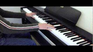 Wonderman Tinie Tempah piano cover instrumental (two hands)