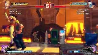Ultra Street Fighter IV: Cody vs Vega (Youtube upload PS3)
