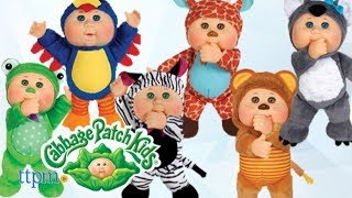 Cabbage Patch Kids Safari Friends Koala, Toucan, Giraffe, Lion, Zebra & Frog from Wicked Cool Toys