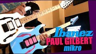 Ramzi Ramman Sessions - Ep35 || IBANEZ PAUL GILBERT miKro GUITAR (REVIEW) width=