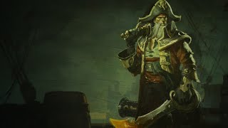 League of Legends BILGEWATER GANGPLANK Login Theme