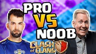 PRO vs 'NOOB' in Clash of Clans!