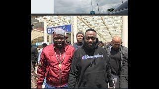 RICK ROSS VIP reception in Nairobi, Kenyan's go CRAZY!