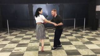 Sailor Kicks! Tony & Sharon Lindy Hop Class Recap | Swing Train 2017