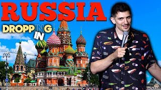 Doing Putin Jokes In Russia, Getting Our Tour Guide Fired, Drunk Parkour In Moscow | Dropping In #44