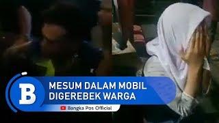 Viral Siswi SMA Diduga Mesum Dalam Mobil Digerebek Warga Di Serang