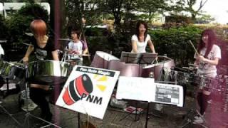 Animated Girls Playing Music in Yoyogi Park on a Sunday - Tokyo, Japan