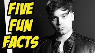 Damien Haas - Five Fun Facts