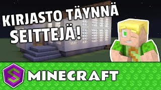 Yritti pilata Kirjastoni!  | Minecraft Rakentelua
