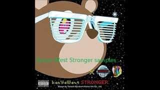 whosampled2 - Kanye West Stronger