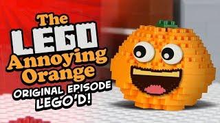 The Lego Annoying Orange (Original Episode Lego'd!)