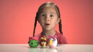 JillianTubeHD presents Female Angry Birds Sculpey Clay Models