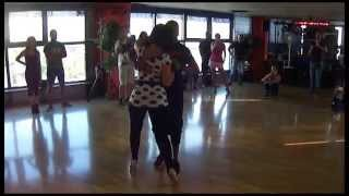 Kizomba Class Demo - Chris Py & Elodie - C4 pedro feat big nelo