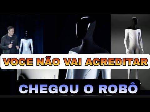 Robô humanóide apresentado para substituir empregos em 2022 - Tesla Bot chegando!