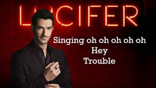 Lucifer S02E01 Soundtrack Valerie Broussard - Trouble [ Lyrics Video ]