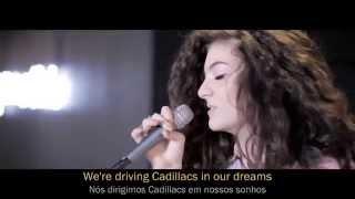 Lorde - Royals (Live Deezer Sessions 360) - Legendado-português/inglês