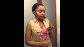 Dancing by myself by China Anne McClain cover by Kayla brow