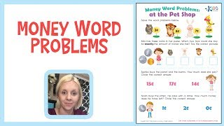 Money Counting for Kids | Money Word Problems for 1st Grade