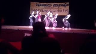 Paris pranaya Krishna nee begane baro dance  choreography by sunil nair width=