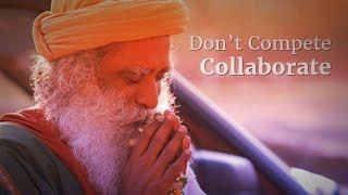 Don't Compete, Collaborate