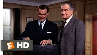 From Russia with Love (1/10) Movie CLIP - A Nasty Briefcase (1963) HD