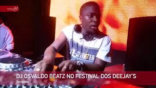 Osvaldo Beatz no festival de DEEJAYS em Benguela - Angola