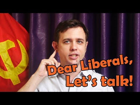 Dear Liberals: Let's Talk! Love, a Leftist