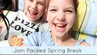 Slime Sleepover, Mall Shopping, & Super Hero Kids on Spring Break Part 2
