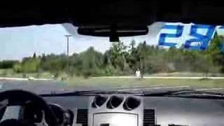 2003 Nissan 350Z on SCCA autox course