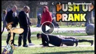 Undercover TV - PUSH UPS Prank
