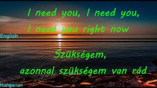 The Chainsmokers - Don't Let Me Down Magyar/English Lyrics