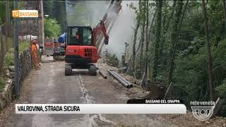 TG BASSANO (08/05/2018) - VALROVINA, STRADA SICURA