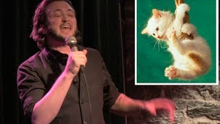 The REAL Reason You Own A Dog Or Cat   [live standup comedy]