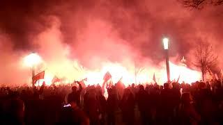 Marsz Niepodległość 2018 Błonia  Stadionu Narodowego 11 Listopad