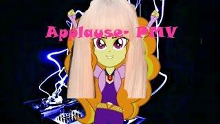 Lady Gaga- Applause (Adagio Dazzle) PMV