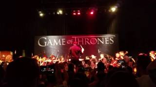 "GAME OF THRONES -  theme performed live at ""Music Is Coming"" preview event"