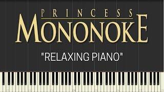 Princess Mononoke - Relaxing Piano (Synthesia) || TedescoCreations