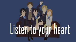 Kokoro Connect | Listen to your Heart AMV