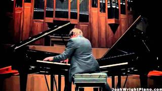 FANTASTIC! Josh Wright plays two Grand Pianos at Once - La Campanella