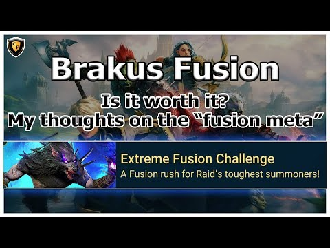RAID Shadow Legends | Brakus Fusion | Is it worth the grind? + Fusions Discussion