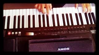 Flor Dormida NELSON KANZELA cover teclado
